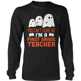 First Grade - Ghosts - District Long Sleeve / Black / S - 7