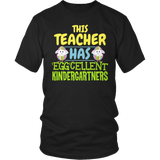 Kindergarten - Eggcellent - District Unisex Shirt / Black / S - 7