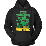English - St. Patrick's Writers - Hoodie / Black / S - 11