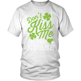 Nurse - Don't Kiss Me - District Unisex Shirt / White / S - 2