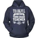 Third Grade - Thankful - Hoodie / Navy / S - 13