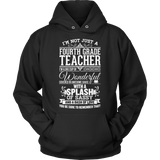 Fourth Grade - Big Cup - Hoodie / Black / S - 12