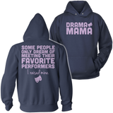 Theater - Mom Raised Mine - Hoodie / Navy / S - 8