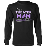 Theater - Proud Mom - District Long Sleeve / Black / S - 9