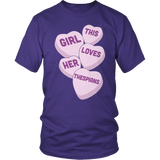 Theater - Candy Hearts - District Unisex Shirt / Purple / S - 7