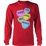 Nurse - Candy Hearts - District Long Sleeve / Red / S - 13