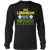 Librarian - Eggcellent - District Long Sleeve / Black / S - 12