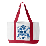English - Important Stuff - White / Red - 3