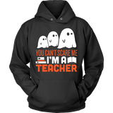 Teacher - Halloween Ghost - Hoodie / Black / S - 4