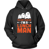 Lunch Man - Halloween Ghost - Hoodie / Black / S - 3