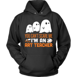 Art - Halloween Ghost - Hoodie / Black / S - 4