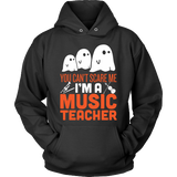 Music - Halloween Ghost - Hoodie / Black / S - 4