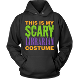 Librarian - Halloween Costume - Hoodie / Black / S - 4