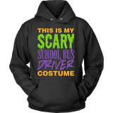 School Bus Driver - Halloween Costume - Hoodie / Black / S - 4