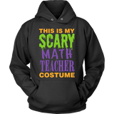 Math - Halloween Costume - Hoodie / Black / S - 4
