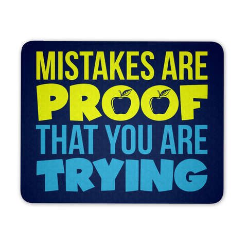 Elementary - Mistakes Are Proof Mousepad - Mousepad - 1