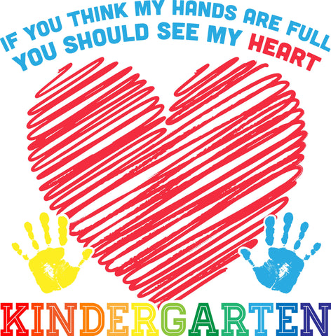 Kindergarten - Full Heart - Keep It School - 3