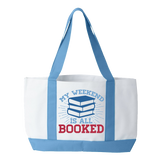 Librarian - Booked Weekend - White / Light Blue - 2