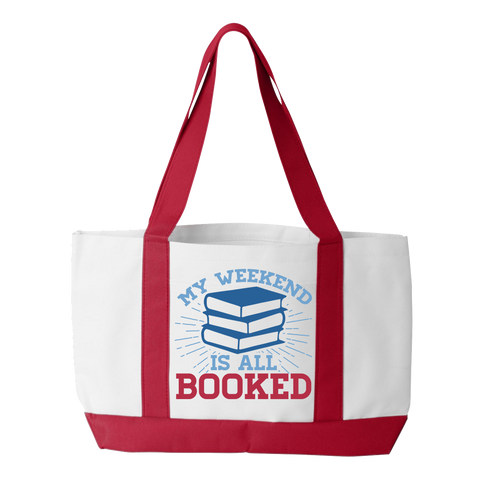 Librarian - Booked Weekend - White / Red - 1