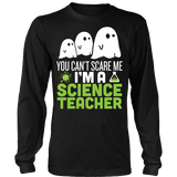 Science - Halloween Ghost - District Long Sleeve / Black / S - 3