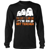 Art - Halloween Ghost - District Long Sleeve / Black / S - 3