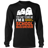 School Bus Driver - Halloween GhostT-shirt - Keep It School - 3