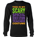Special Education - Halloween Costume - District Long Sleeve / Black / S - 3