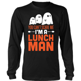Lunch Man - Halloween Ghost - District Long Sleeve / Black / S - 2