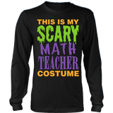 Math - Halloween Costume - District Long Sleeve / Black / S - 3