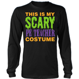 Phys Ed - Halloween Costume - District Long Sleeve / Black / S - 3