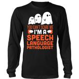 SLP - Halloween Ghost - District Long Sleeve / Black / S - 3