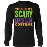 Lunch Lady - Halloween Costume - District Long Sleeve / Black / S - 3