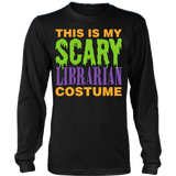 Librarian - Halloween Costume - District Long Sleeve / Black / S - 3