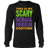 Counselor - Halloween Costume - District Long Sleeve / Black / S - 3