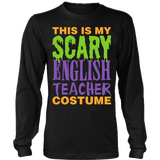 English - Halloween Costume - District Long Sleeve / Black / S - 3