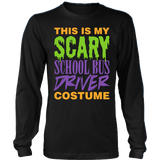 School Bus Driver - Halloween Costume - District Long Sleeve / Black / S - 3