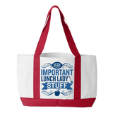 Lunch Lady - Important Stuff - White / Red - 3