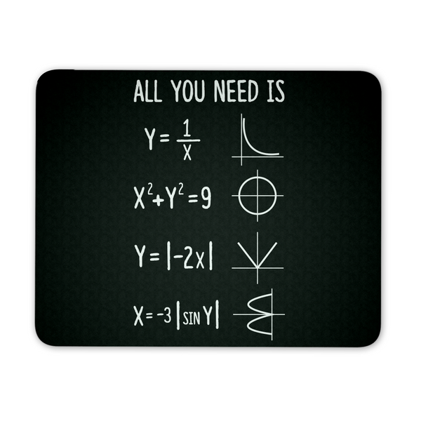 Math - All You Need Mousepad - Mousepad - 1