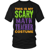 Math - Halloween Costume - District Unisex Shirt / Black / S - 1