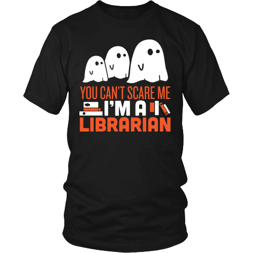Librarian - Halloween GhostT-shirt - Keep It School - 1