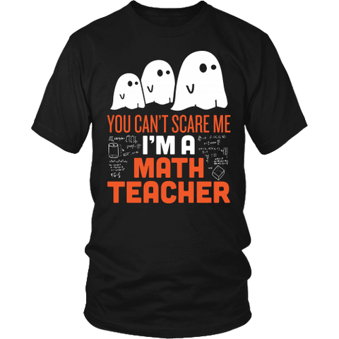 Math - Halloween GhostT-shirt - Keep It School - 1