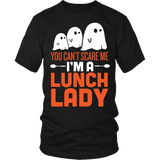Lunch Lady - Halloween Ghost - District Unisex Shirt / Black / S - 2