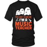 Music - Halloween Ghost - District Unisex Shirt / Black / S - 2