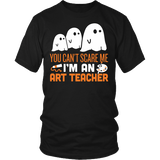 Art - Halloween Ghost - District Unisex Shirt / Black / S - 2