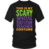 Special Education - Halloween Costume - District Unisex Shirt / Black / S - 2