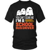 School Bus Driver - Halloween GhostT-shirt - Keep It School - 1