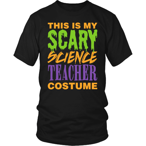 Science - Halloween Costume - District Unisex Shirt / Black / S - 1