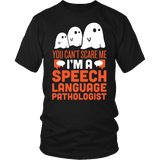 SLP - Halloween Ghost - District Unisex Shirt / Black / S - 2