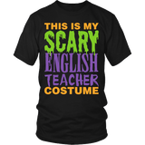 English - Halloween Costume - District Unisex Shirt / Black / S - 2