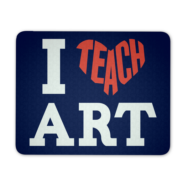 Art - I Teach Mousepad - Mousepad - 1